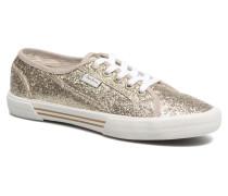 Aberlady Flash Sneaker in goldinbronze