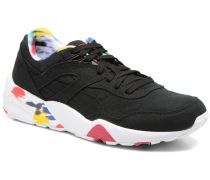 WNS R698 Blur Trinomic Sneaker in schwarz