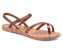 Fashion Sandal Sandalen in goldinbronze