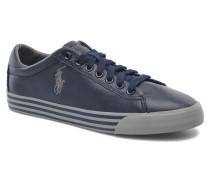 Harvey Leather Sneaker in blau