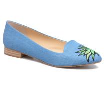 Becca Slipper in blau