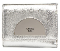 Anuka SLG Small Trifold Portemonnaies & Clutches in silber