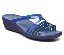 Isabella Mini Wedge W Clogs & Pantoletten in blau