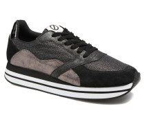 Eden Street Sneaker in schwarz