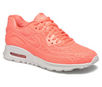 W Air Max 90 Ultra Plush Sneaker in rosa