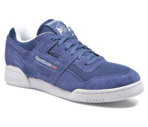 Workout plus is Sneaker in blau