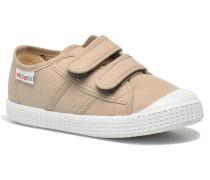 Basket lona Dos Velcos Sneaker in beige