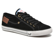 Icare Suede Sneaker in schwarz
