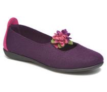 Agnos Hausschuhe in lila