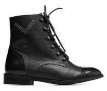 Boots Camp #17 Stiefeletten & in schwarz