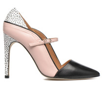Glossy Cindy #10 Pumps in rosa