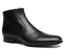 Rija Boots perfo Stiefeletten & in schwarz