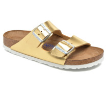 Arizona Cuir W Clogs & Pantoletten in goldinbronze
