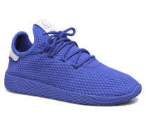 Pharrell Williams Tennis Hu J Sneaker in blau