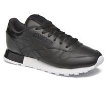 Cl Lthr Matte Shine Sneaker in schwarz