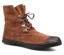Montana Suedboots Sneaker in braun