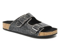 RIVETT Clogs & Pantoletten in silber