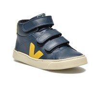 ESPLAR MID SMALL VELCRO LEATHER Sneaker in blau