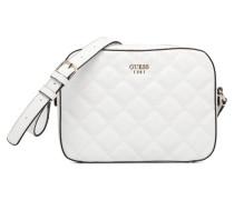 Kamryn Top Zip Handtasche in weiß