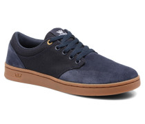 Chino Court Sneaker in blau