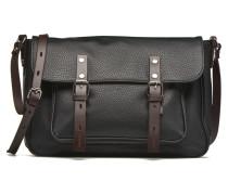 Gibecière grainée Handtaschen für Taschen in schwarz