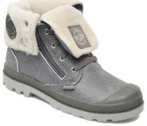 Baggy Leather K Stiefeletten & Boots in grau
