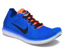 Free Rn Flyknit Sportschuhe in blau