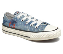 Chuck Taylor All Star Ox K Sneaker in blau