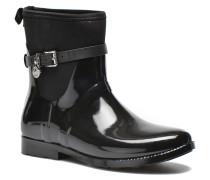 Charme stretch rain bootie Stiefeletten & Boots in schwarz
