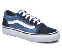 Old Skool E Sneaker in blau