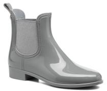 Derby Stiefeletten & Boots in grau