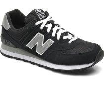 M574 Sneaker in schwarz