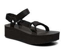 Flatform Universal Sandalen in schwarz