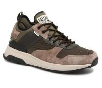 Axeon Army R M Sneaker in braun