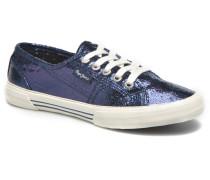 Aberlady Crackle Sneaker in blau