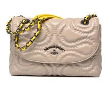 Quilted Squggle Handtaschen für Taschen in grau