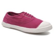 Tennis Lacets Sneaker in lila