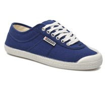 Basic Sneaker in blau
