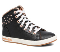 Shoutouts Zipper Fancy Sneaker in schwarz