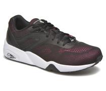 R698 Eng. Mesh Sneaker in schwarz