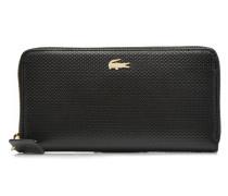 CHANTACO Zip around Portemonnaies & Clutches für Taschen in schwarz