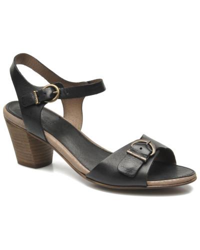 kickers damen seatdown sandalen in schwarz reduziert. Black Bedroom Furniture Sets. Home Design Ideas
