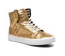Supra - Skytop w - Sneaker für Damen / gold/bronze
