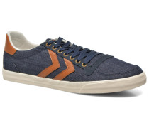 Ten Star Denim Lo Sneaker in blau