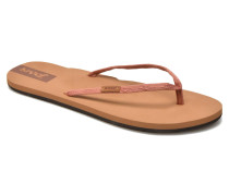 Slim Ginger Zehensandalen in rosa