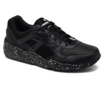 R698 Speckle JR Sneaker in schwarz
