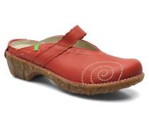 Yggdrasil N096 Clogs & Pantoletten in rot