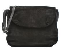 Macca Suede Crossover Mini Bags für Taschen in schwarz