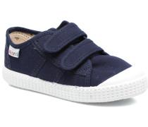 Basket lona Dos Velcos Sneaker in blau