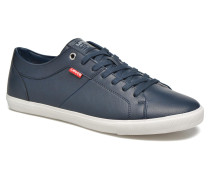 Woods Sneaker in blau